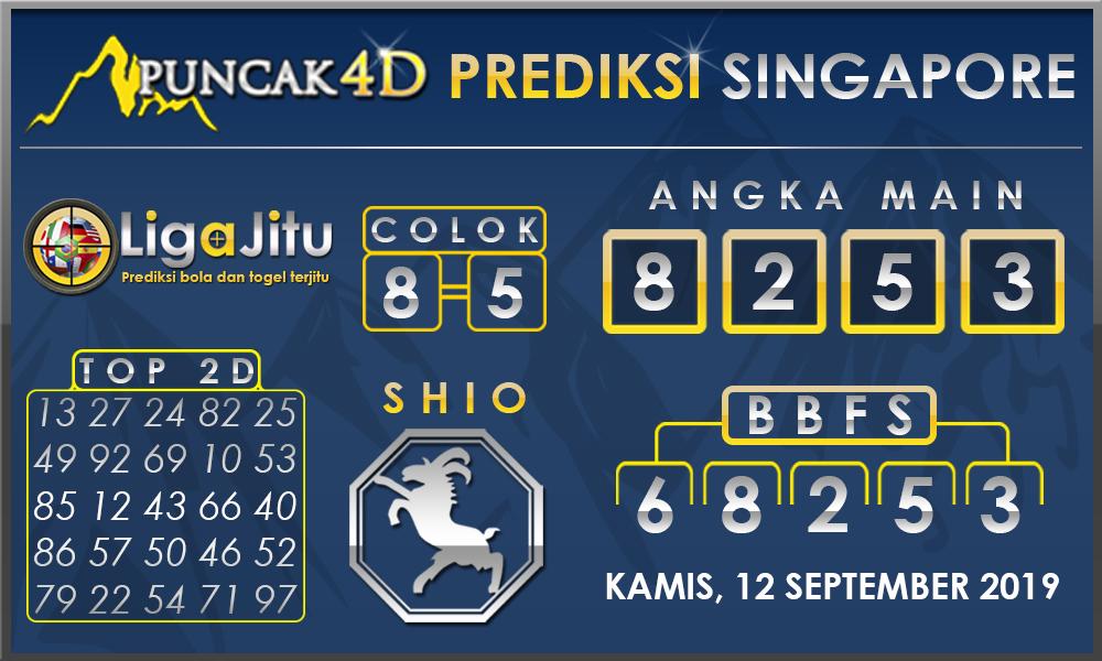 PREDIKSI TOGEL SINGAPORE PUNCAK4D 12 SEPTEMBER 2019