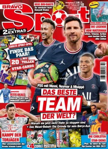 Cover: Bravo Sport Jugendmagazin No 10 vom 02  September 2021