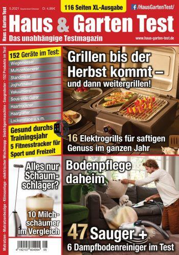 Cover: Haus und Garten Test-Magazin No 05 September-Oktober 2021