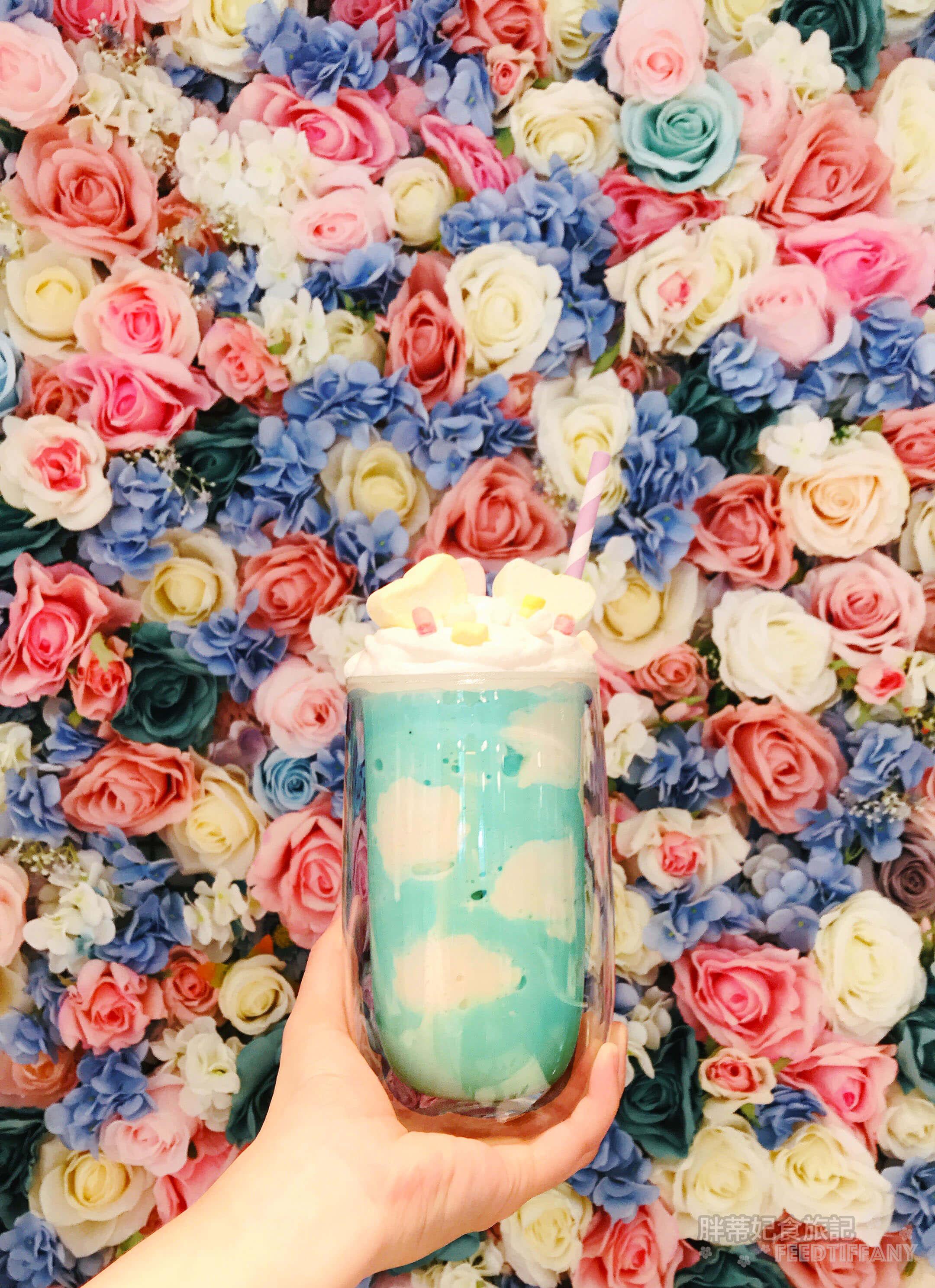 Maccanti馬卡諦義大利冰淇淋 夢幻好拍花牆