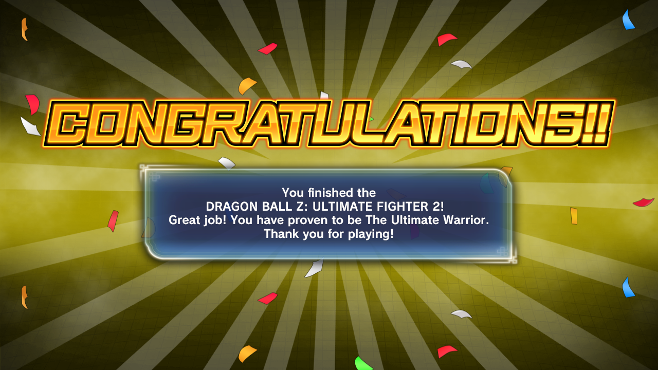 DRAGON BALL Z: ULTIMATE FIGHTER 2 Mugen019