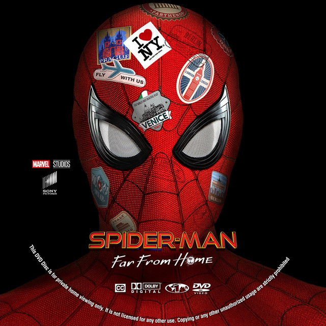 Spider-Man-Far-From-Home-DVD-Label