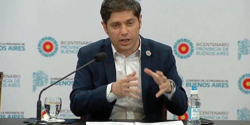 """Axel Kicillof confirmó que se detectó la cepa Manaos en la Provincia: """"Son números alarmantes"""""""