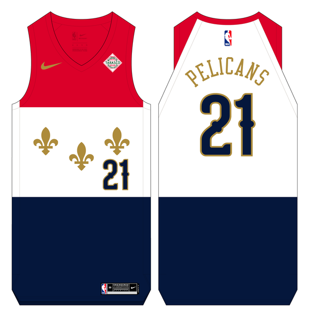 NBA-Concept-Pelicans-City-Flag