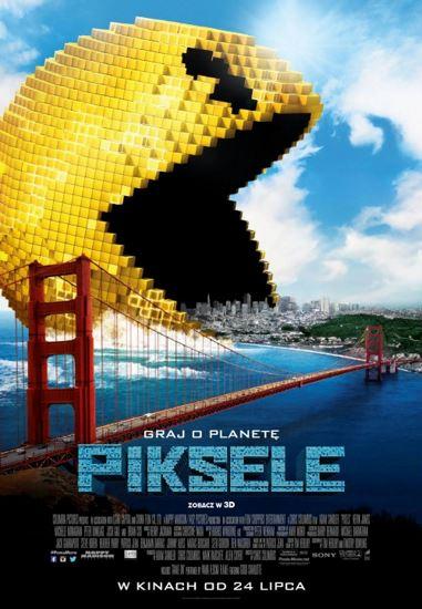 Piksele / Pixels (2015) PL.BRRip.XviD-GR4PE | Lektor PL
