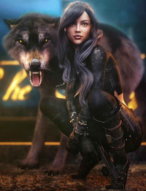 Assassin-Girl-Sci-Fi-Fantasy-Woman-Art-DS-Iray-by-shibashake-on-Deviant-Art