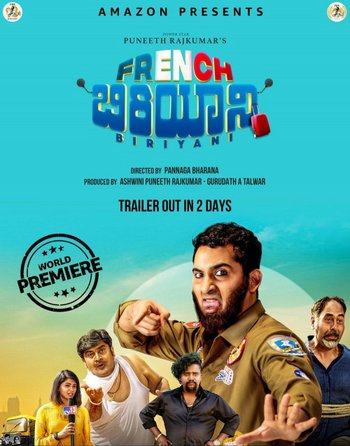 French Biriyani (2020) Kannada 720p HDRip Esubs DL