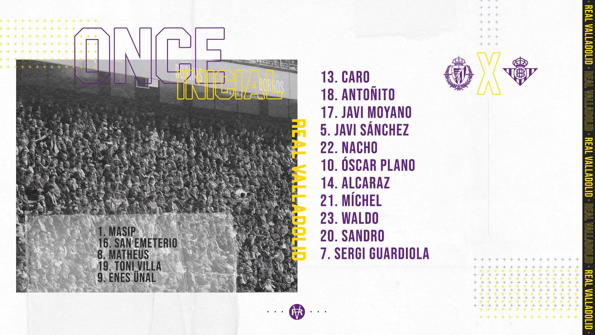 Real Valladolid C.F. - Real Betis Balompié. Domingo 19 de Julio. 18:30 20200719-172842