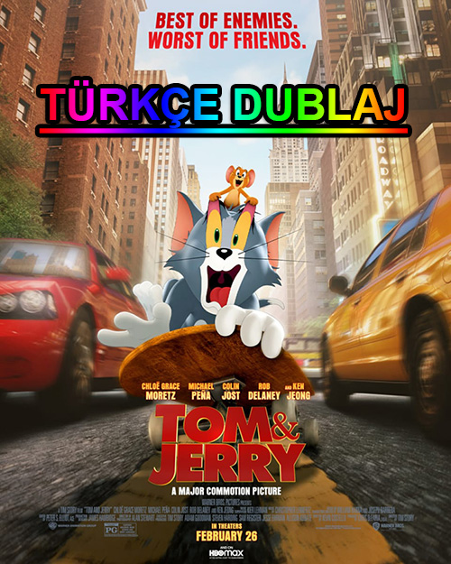 Tom ve Jerry | 2021 | WEB-DL | XviD | Türkçe Dublaj | m720p - m1080p | WEB-DL | Tek Link