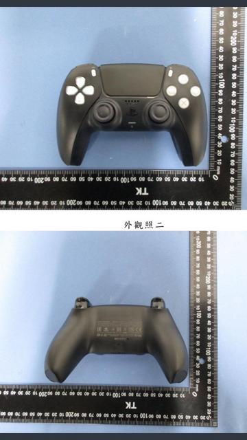 純黑色版PS5 DualSense手把實物圖疑似洩露 Image