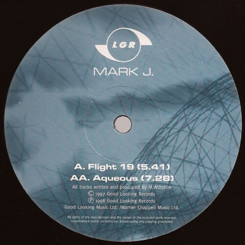 Mark J - Flight 19 / Aqueous