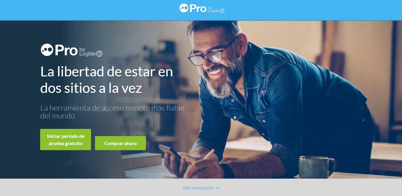 LogMeIn Pro, software de videoconferencia profesional