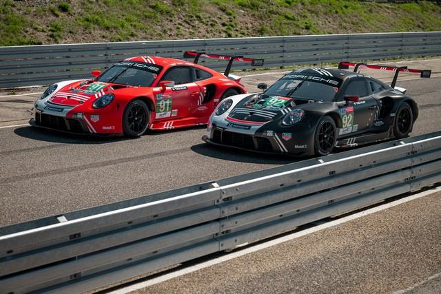Porsche réuni six prototypes vainqueurs au classement général au Mans M20-3752-fine