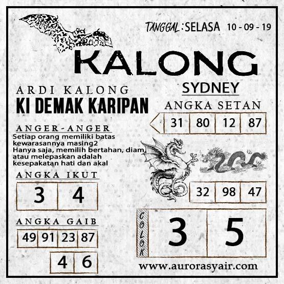 Syair-Kalong-SYDNEY