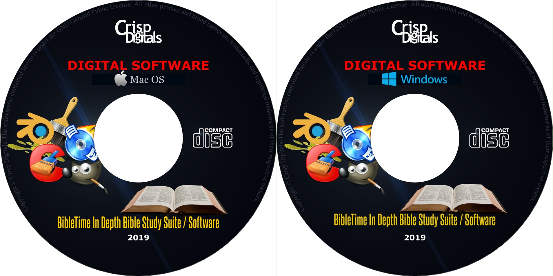 Details about NEW BibleTime In Depth Professional Bible Study Software  Suite Windows & Mac OS