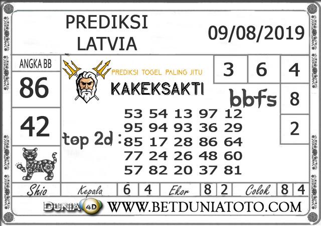 "Prediksi Togel ""LATVIA"" DUNIA4D 09 AGUSTUS 2019"