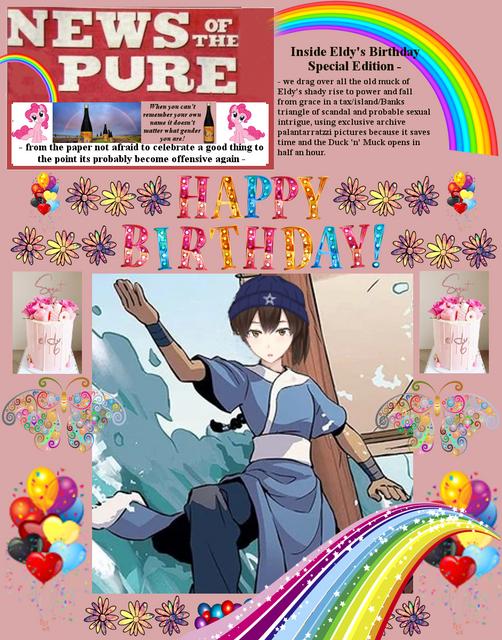 Happy Birthday Eldy! P1