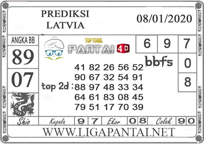 PREDIKSI TOGEL LATVIA PANTAI4D 08 JANUARI 2020