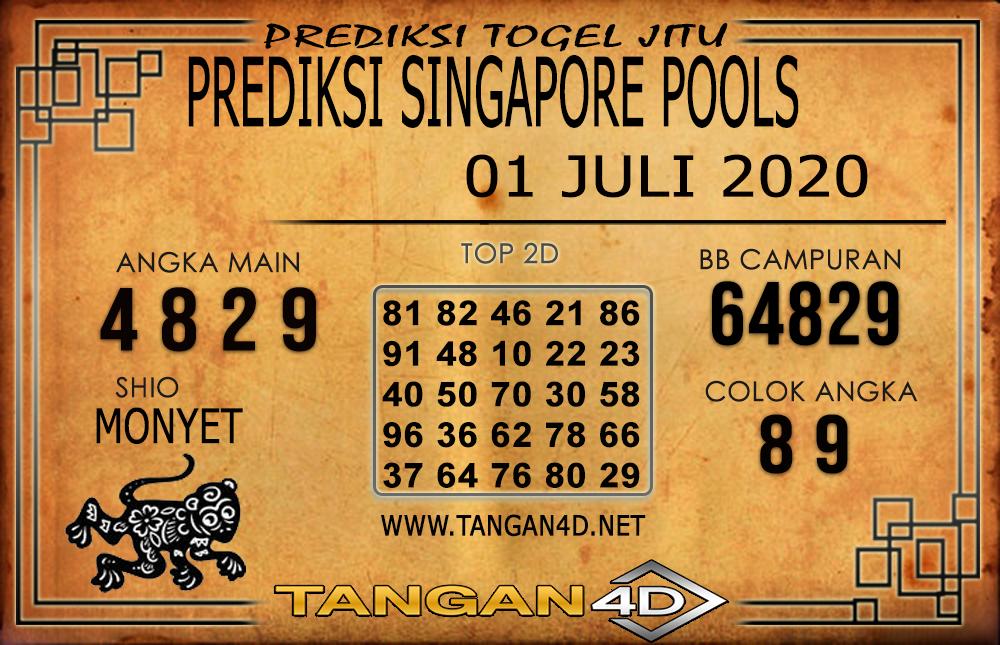 PREDIKSI TOGEL SINGAPORE TANGAN4D 01 JULI 2020