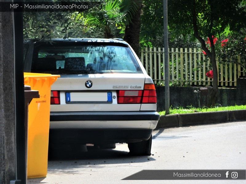 Auto Abbandonate - Pagina 7 Bmw-E34-Touring-525-tds-2-5-143cv-CA757-RV