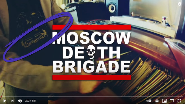 MOSCOW DEATH BRIGADE - Bad Accent Anthems (Abril 2020) Moscow-brigade