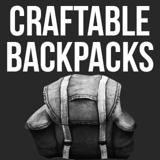Craftable backbacks / Вышиваемые рюкзаки!