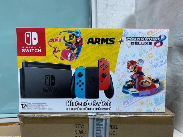 Les différents pack Switch Arms-MK8-neon