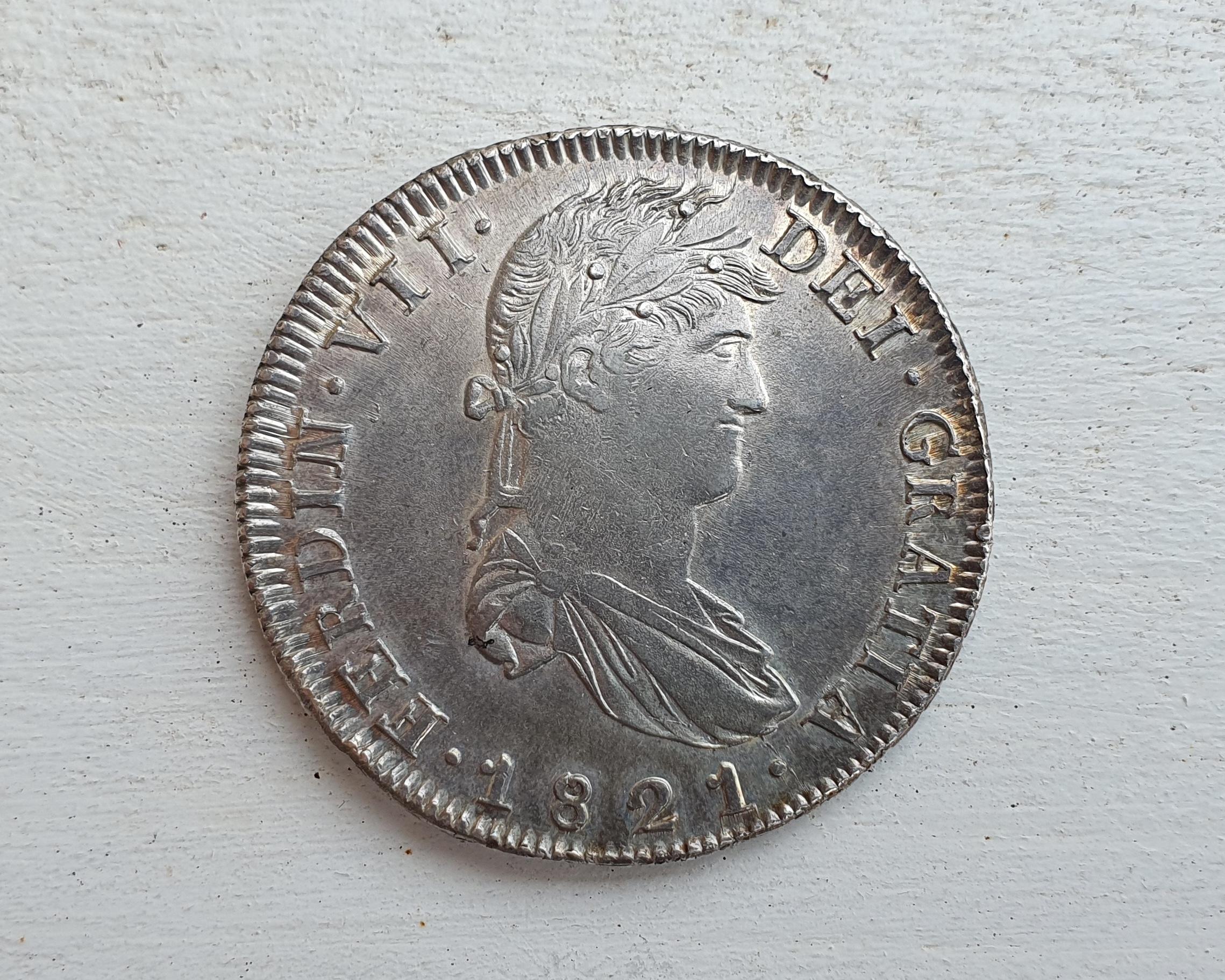 8 Reales Fernando VII 1821 Zacatecas 20201114-162630-Snapseed