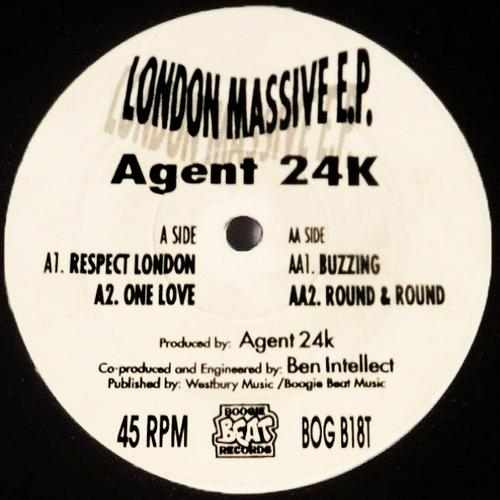 Agent 24K - London Massive E.P. 1992
