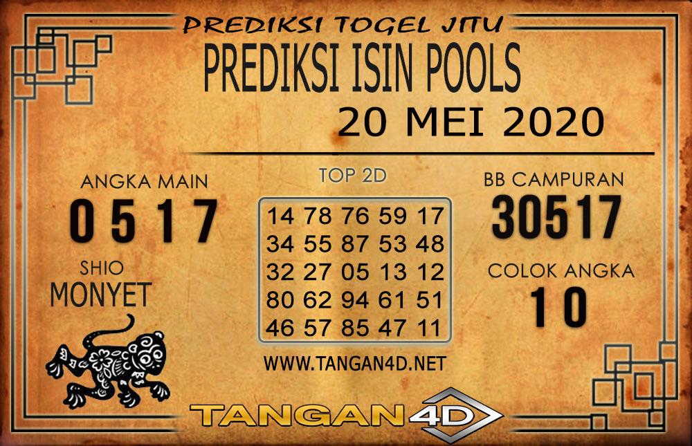 PREDIKSI TOGEL ISIN TANGAN4D 20 MEI 2020