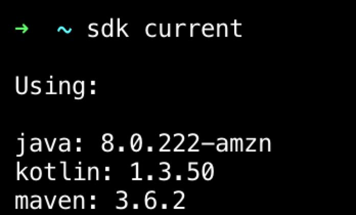 sdk current