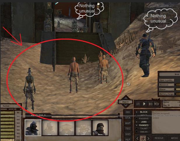 Escaped slave AI