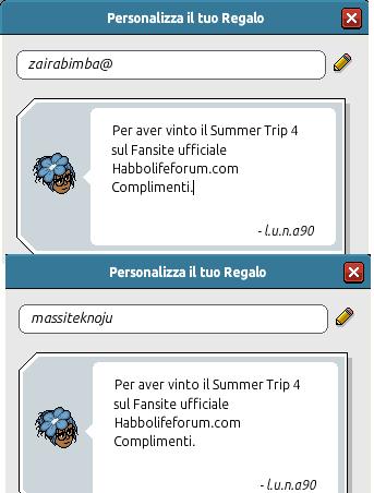 [HLF GAME] Esito Summer Trip #4 Summer-4