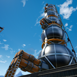 Big Storage tank and Megapump / Большой бак и меганасос