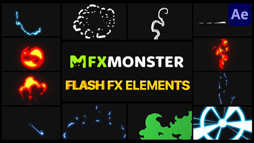 Flash FX Elements Pack 02 29989229 - After Effects Project & Script (Videohive)