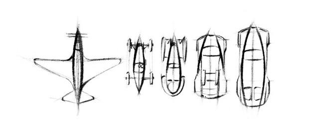 Les risque-tout chez Bugatti – entre l'avion et la voiture de course  14-fuselage-04