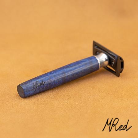 Les rasoirs de MRED (manches, custom...) - Page 6 Bois-stabilis-bleu-4-sur-4