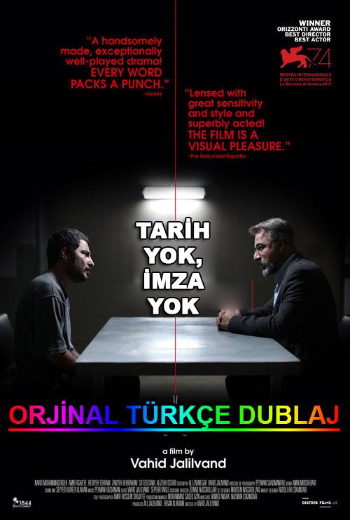 Tarih Yok, İmza Yok | No Date, No Signature | 2018 | WEB-DL | XviD | Türkçe Dublaj | m720p - m1080p | WEB-DL | Dual | TR-EN | Tek Link