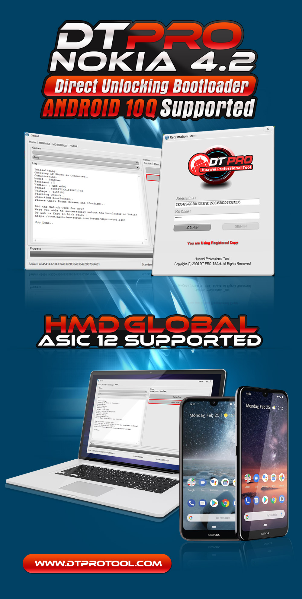 """Nokia 4.2 ANDROID 10 """"Q"""" Direct Bootloader Unlocking Supported"""
