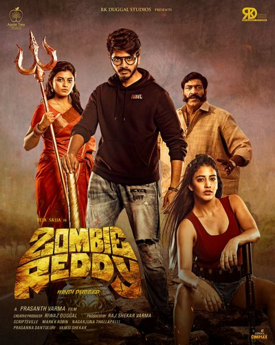 Zombie Reddy (2021) Hindi Dubbed 480p HDRip 342MB Download