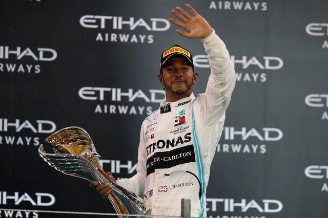 F1 GP d'Abu Dhabi 2019 : Lewis Hamilton termine la saison par une victoire 1025175