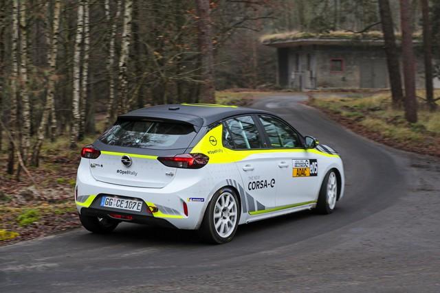 Le calendrier de l'ADAC Opel e-Rally Cup est fixé Opel-Corsa-e-Rally-513860