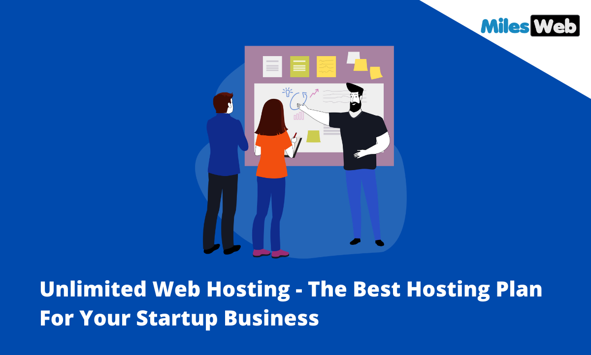 Unlimited Web Hosting  – The Best Hosting Plan For Your Startup Business