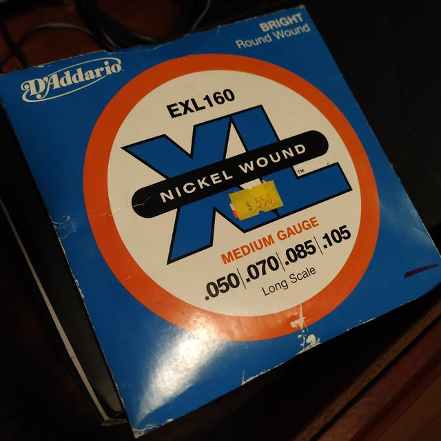Cordas D'addario antigas (novas na loja, produzidas há mais de 10 anos) IMG-20201030-153742