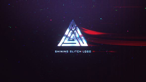 Shining Glitch Logo 30886415 - Project for After Effects (Videohive)