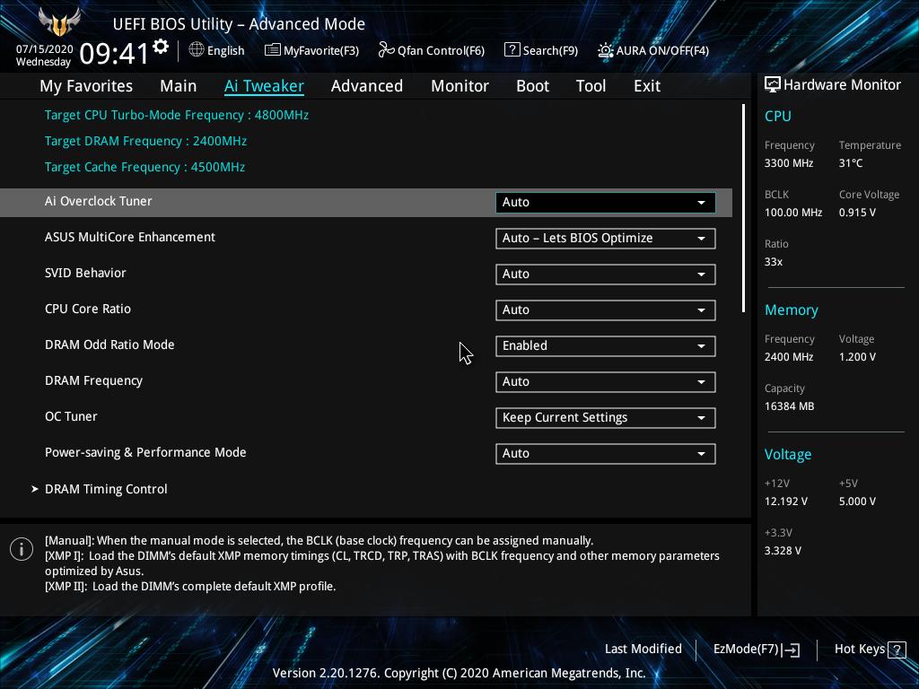 TUF Gaming Z490-Plus WiFi