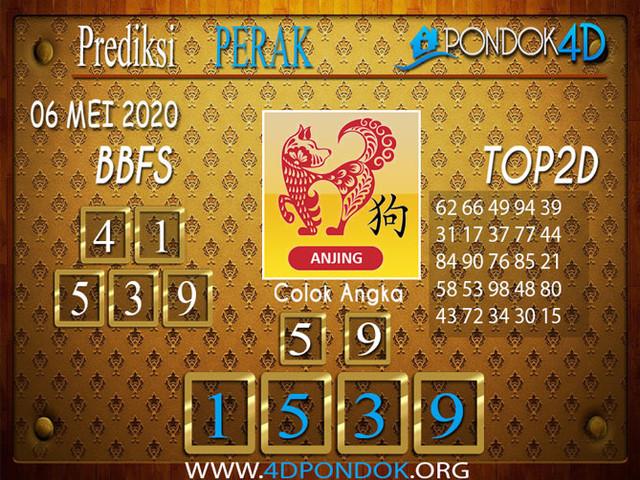 Prediksi Togel PERAK PONDOK4D 06 MEI 2020