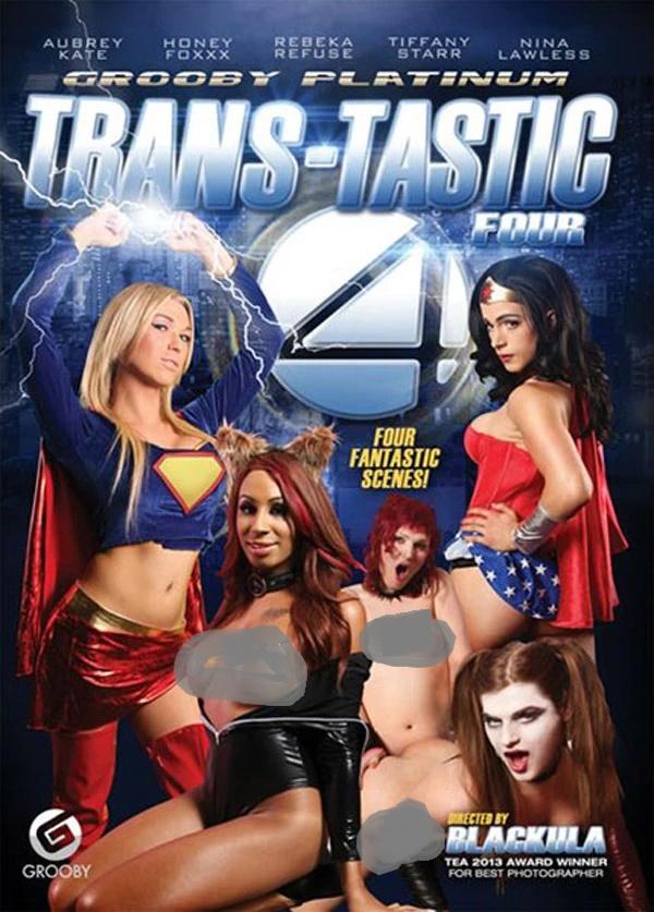 18+ Trans: Tastic Four 2020 English XXX Parady 720p HDRip 1GB | 350MB Download