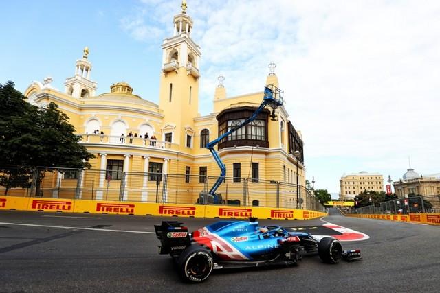 « Magic Alonso » signe à Bakou son meilleur résultat depuis son retour en Formule 1 60bd0ee65f3fcb5f60328c13