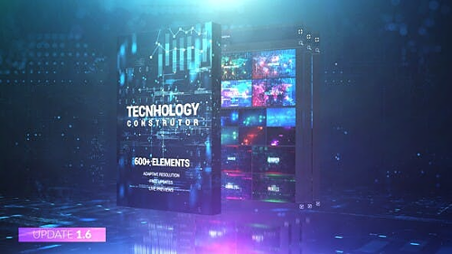 Technology Constructor V1.5 25146667 - Project & Script for After Effects (Videohive)